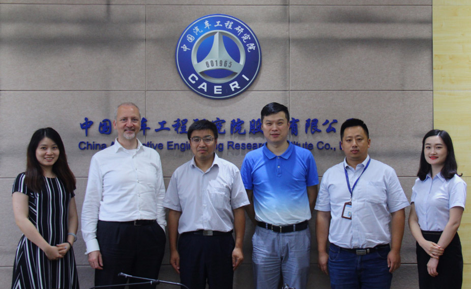 Danisi Engineering visit Caeri